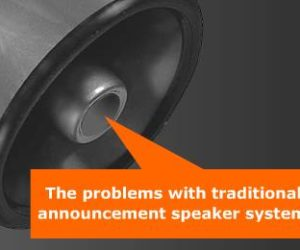 PA Speaker Problems