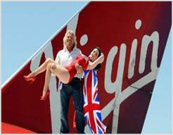 Virgin Atlantic BASE PA message