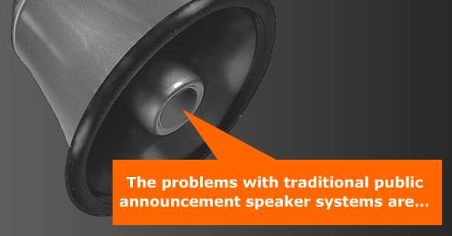 Reduce PA Echo Problems in Rooms with Feonic Surface Speakers