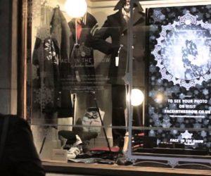 Interactive Digital Signage Retail Window