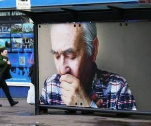 Interactive Bus Shelter and Bus Stop Advertising