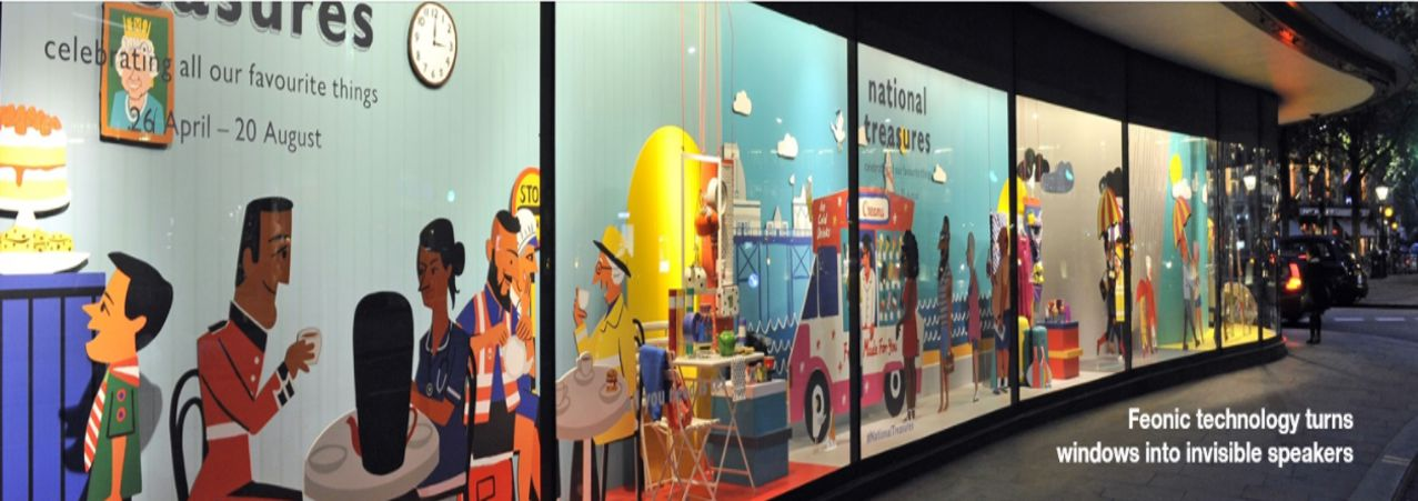 Interactive Window Display - John Lewis Department Store, London